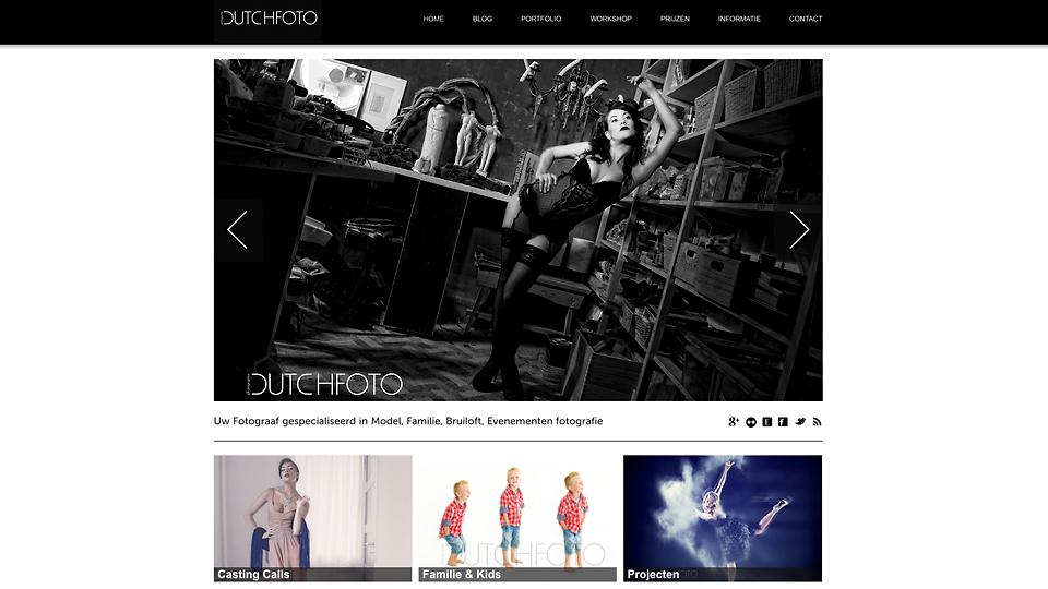 Vernieuwde website Dutchfoto.nl